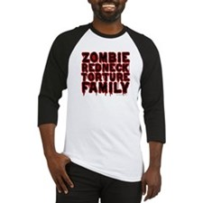 Zombie Redneck Torture Family Blood Baseball Tee