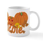 Halloween Pumpkin Nicole Mug