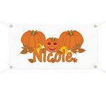 Halloween Pumpkin Nicole Banner