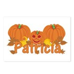 Halloween Pumpkin Patricia Postcards (Package of 8