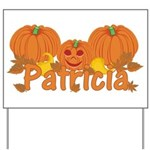 Halloween Pumpkin Patricia Yard Sign