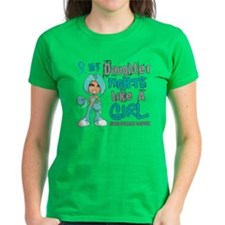 Fights Like a Girl 42.9 Ovarian Cancer Tee