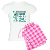 Fights Like a Girl 42.9 Ovarian Cancer Pajamas