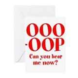 OOO-OOP Greeting Cards (Pk of 20)