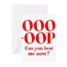 OOO-OOP Greeting Cards (Pk of 10)