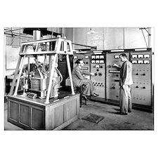 Mass spectrometer, 1954