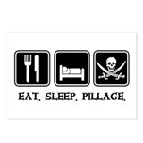 Eat. Sleep. Pillage. Postcards (Package of 8)