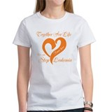 Personalize Leukemia Tee