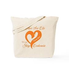 Personalize Leukemia Tote Bag