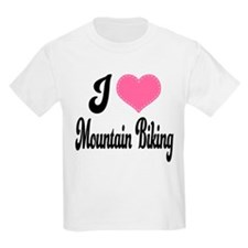 I Love Mountain Biking T-Shirt