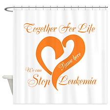 Stop Leukemia Shower Curtain
