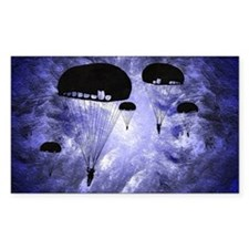 Harvest Moons Paratroopers Bumper Stickers
