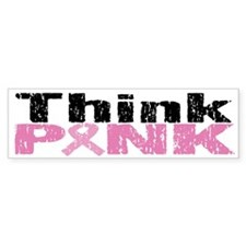 Think Pink dis Bumper Sticker