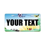 Ohio Aviation Custom License Plate
