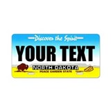North Dakota Custom License Plate