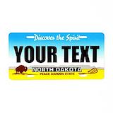 Custom state License Plates