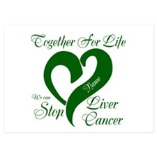 Personalize Stop Liver Cancer Invitations