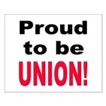 Proud Union Small Poster