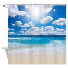 Sunny Beach Shower Curtain