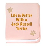 Life is better with a Jack Russell Terrier baby bl