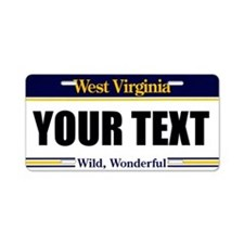 West Virginia Custom License Plate