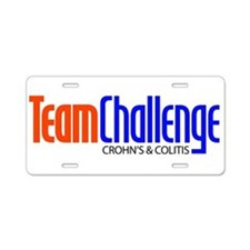 Team Challenge Aluminum License Plate