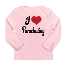I Love Parachuting Long Sleeve Infant T-Shirt