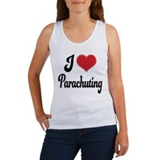 I Love Parachuting Women's Tank Top