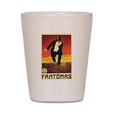Fantomas 1913 Shot Glass