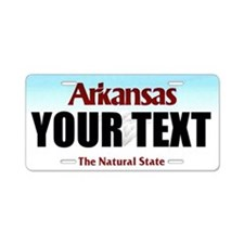 Arkansas Custom License Plate