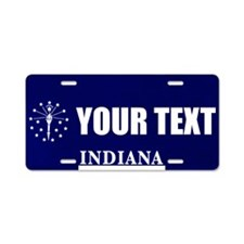 Indiana Custom License Plate