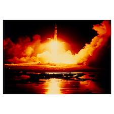 Night launch of Apollo 17