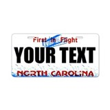 North Carolina Custom License Plate