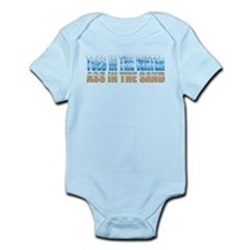 Toes in the Water ~ Ass In The Sand Infant Bodysui