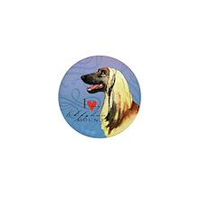 Afghan Hound Mini Button