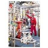 Oil refinery worker