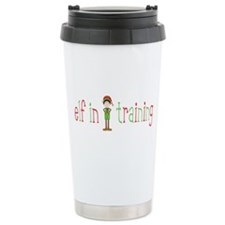 Elf in Training Ceramic Travel Mug