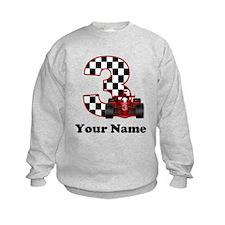 3rd Birthday Race Car Sweatshirt