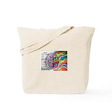 Left Brain, Right Brain Tote Bag