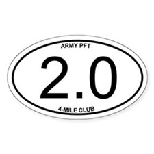 Army PFA 2.0 Decal