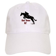 Get Over It! Horse Jumper Baseball Cap