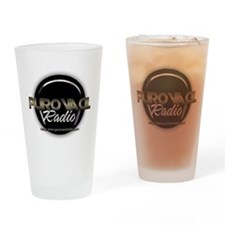 PuroVacilradio Logo Drinking Glass