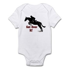 Get Over It! Horse Jumper Infant Bodysuit