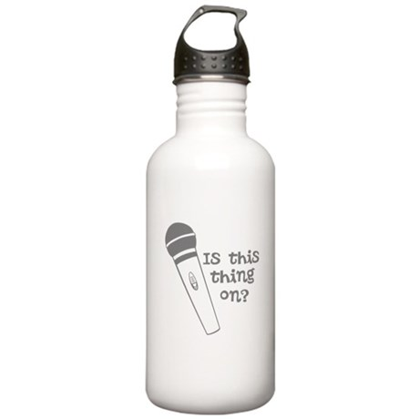 is this thing on Stainless Water Bottle 1.0L