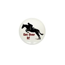 Get Over It! Horse Jumper Mini Button (10 pack)