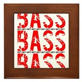 Dirty Bass Framed Tile