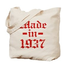 Made In 1937 Tote Bag