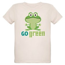 Go Green Frog T-Shirt