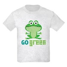 Go Green Frog T-Shirt