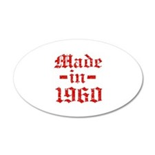 Made In 1960 Wall Decal